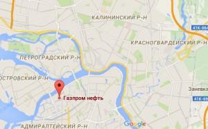 карта в Питере где находится отдел кадров