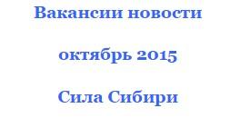 работа сила сибири-2 оператор дэс 2016