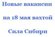 Керченский мост + Сила Сибири должности от прямых работодателей